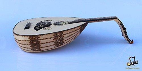 Turkish Professional Electric Oud Ud String Instrument AOK-206GP by salamuzik