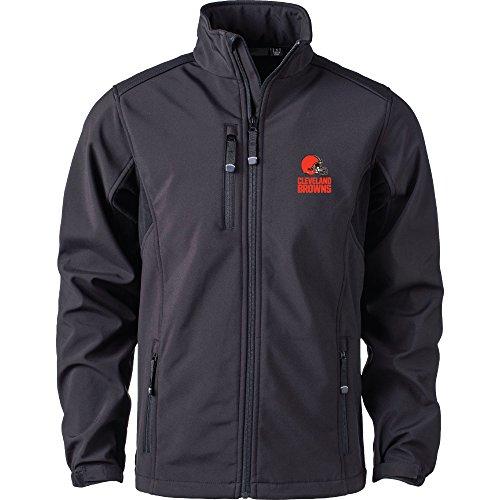Dunbrooke Apparel NFL Cleveland Browns Men's Softshell Jacket, Large, Black