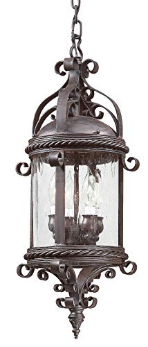 Troy Lighting FCD9124OBZ Four Light Hanging Lantern, 25