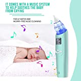 Baby Nasal Aspirator - Electric Nose Suction for