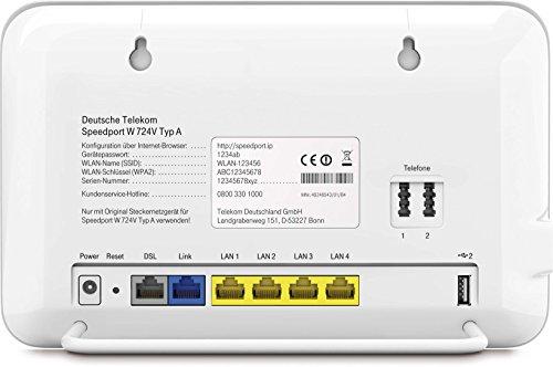 Deutsche Telekom Speedport W724v Typ A Router Amazonde Elektronik