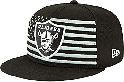 New Era Oakland Raiders 9FIFTY NFL Official 2019 Draft Snapback Hat