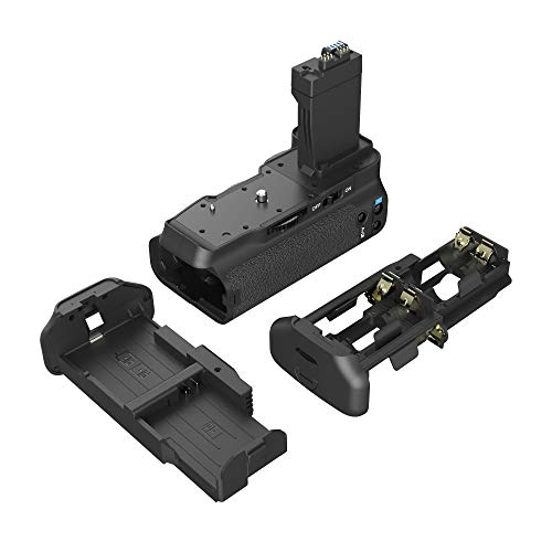 LP BG-E8 Replacement Battery Grip, Compatible with Canon EOS Rebel T2i, T3i, T4i, T5i, 550D, 600D, 650D, 700D, Work with LP-E8 Battery &LC-E8 Charger