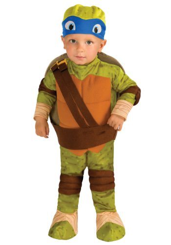 [Rubies Costume Co. Inc ' Toddler Tmnt Leonardo Costume Size 4/6] (Ninja Turtle Costumes Boys)