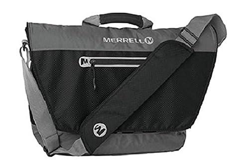 44d9bd3c68c Amazon.com | Merrell Pickerel Messenger Bag, Black, One Size ...