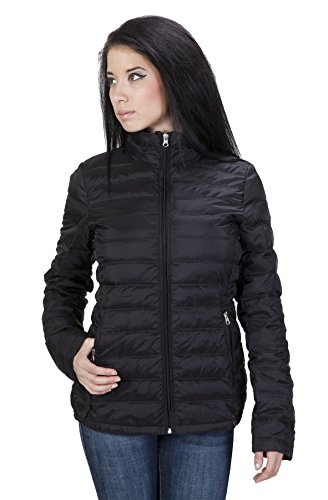 United Face Womens Lightweight Packable Down Jacket with 400 Down Fill Power Large Black (United Face Down Jacket compare prices)