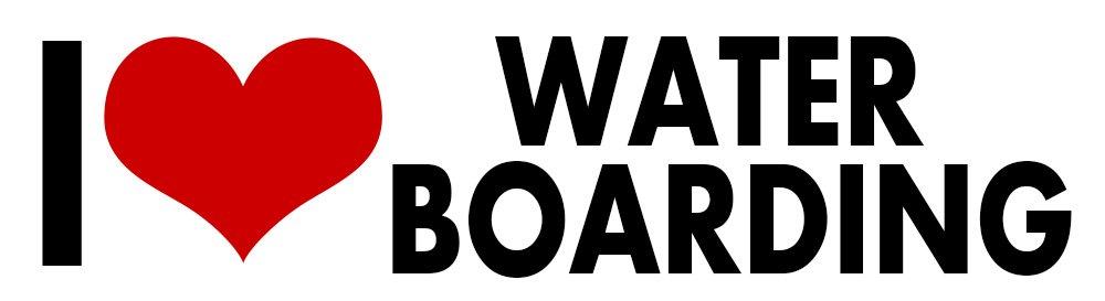 高価値セリー i Love Water Boarding STICKER Cool DECAL VINYL BUMPER Gift Torture LOCKER for Truth Political Crude Humor Cool Gift DCOR CAR TRUCK LOCKER WINDOW WALL NOTEBOOK by Unbranded* B014JPPJPW, ペイント ストア:78b6ec39 --- a0267596.xsph.ru