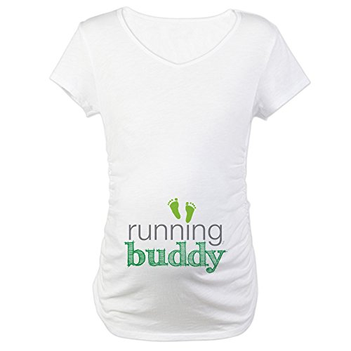 CafePress Running Maternity T Shirt Pregnancy