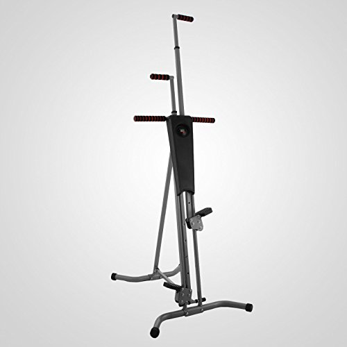 LCD Vertical Climber Stepper Climbing Machine Home Use Digital Calorie 200Kg by Happybeamy (Image #1)'
