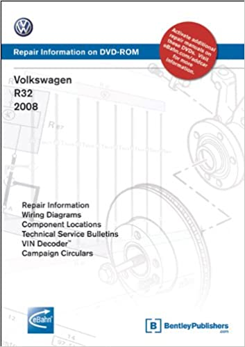 volkswagen r32 2008: repair manual on dvd-rom (windows 2000/xp): volkswagen  of america: 9780837615455: amazon com: books