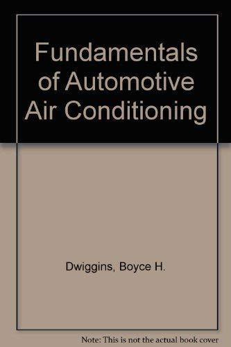Fundamentals of Automotive Air Conditioning