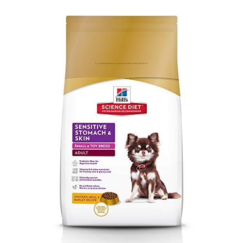Hill's Science Diet Adult Sensitive Stomach & Skin Small & Mini Chicken Recipe Dry Dog Food, 15 lb bag