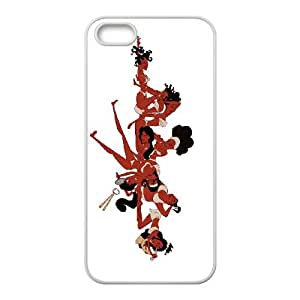 iPhone 4 4s Cell Phone Case White Disney Hercules Character Calliope as a gift I708086
