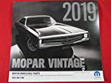 2019 MOPAR Muscle CAR Calendar 12 month Vintage DODGE CHRYSLER PLYMOUTH NEW OEM