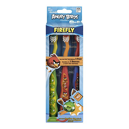 Angry Birds Toothbrush, 3-Pack, 3 Count