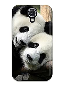Evelyn C. Wingfield's Shop New Style Tpu Shockproof Scratcheproof Panda Bears Hard Case Cover For Galaxy S4