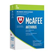 Mcafee 2018 Antivirus 1-User 1Yr