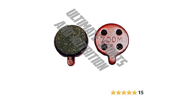 4 Pairs Bike Resin Disc Brake Pads For ZOOM DB280 DB550 DB450 DB350 Bicycle Pad