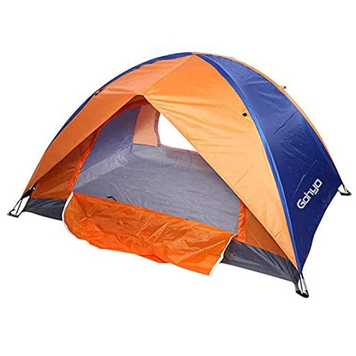 Camping-Tent-Double-Layer-2-Door-Backpacking-Tents-Hiking-Shelters-4-Season-Family-Instant-Tent