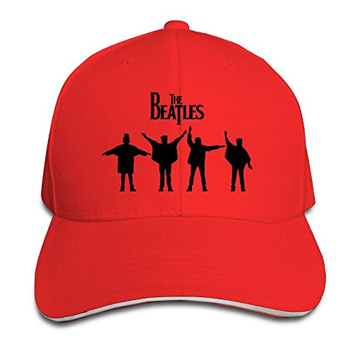sunny-fish6hh-unisex-adjustable-the-beatles-baseball-caps-hat-one-size-red