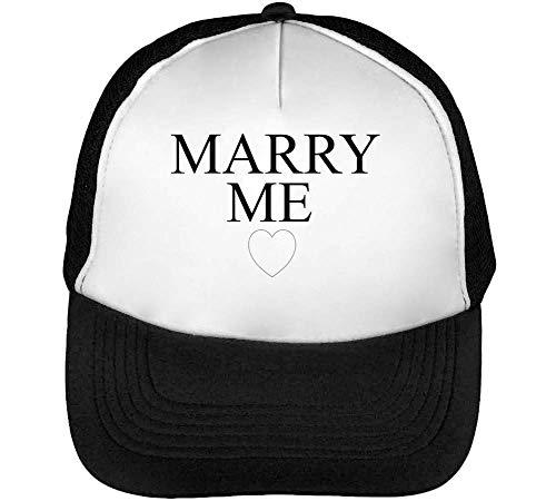 Snapback Beisbol Negro Blanco Hombre Marry Gorras wUEqHqz