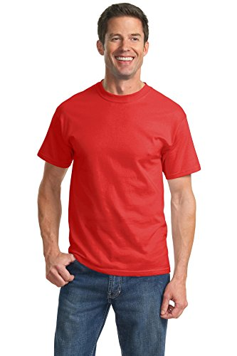 port-company-mens-essential-t-shirt-xl-fiery-red