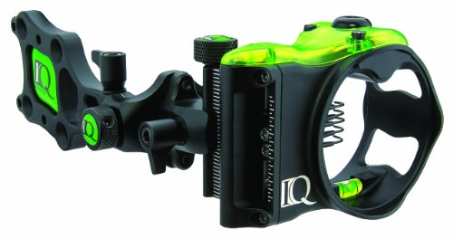 Carbon Express IQ Bowsights 5-Pin Micro Bowsight with Retina Lock Technology,Right Hand ()