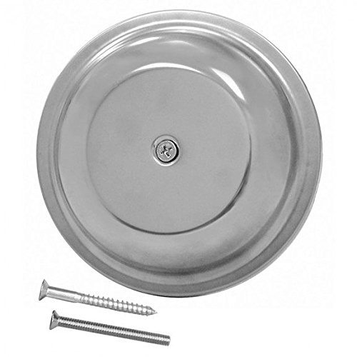 6 Stainless Steel Dome Cover Plate- Pack of 5 by Jones Stephens