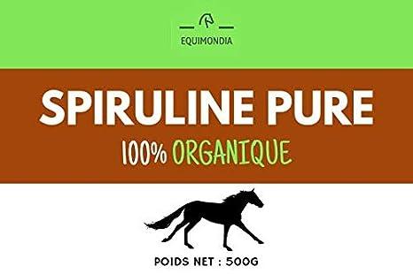spiruline Pure para caballos 500 gr: Amazon.es: Productos ...