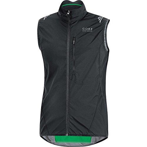 GORE BIKE WEAR Men's Cycling Vest, Super-Light, Compact, GORE WINDSTOPPER,  WS AS Vest, Size L, Black, - Men Cycling Vest