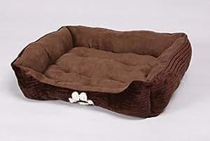 Amazon.com : HappyCare Textiles Reversible Rectangle Pet