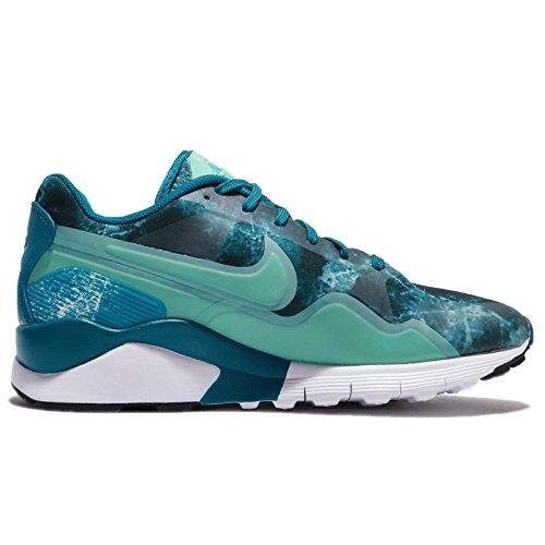 Nike Donne W Pegasus Aria 92/16 Di Stampa, Nero Grigio / Lupo - Bianco Verde Abisso / Iper Trq-bianco-blk