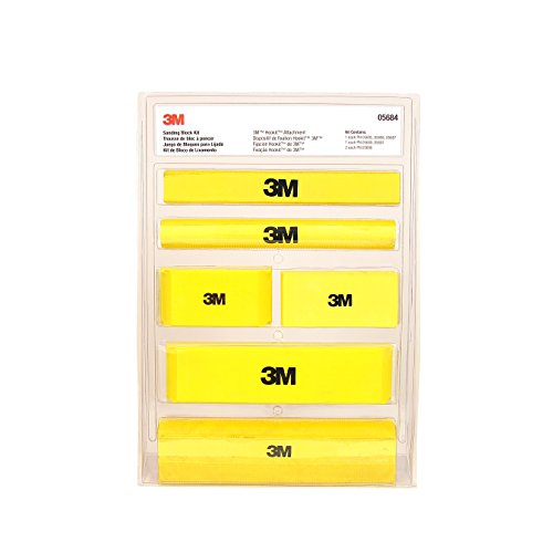 3M (5684) Hookit Sanding Block Kit by 3M