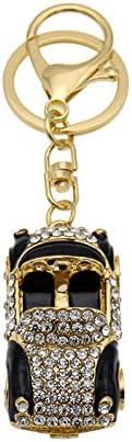 レディースキーホルダー・チャーム クリエイティブ美しいバッグハンギングファッション人格象眼細工ラインストーンカーメタルキーホルダー 可愛い 飾り プレゼント