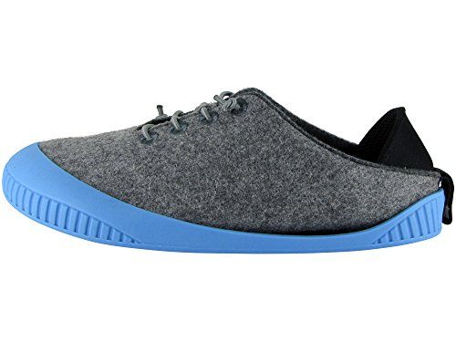 Dualyz Sole with Fit Unisex Sky Wool Grey Light Slipper Removable Shoe 100 wwUq6