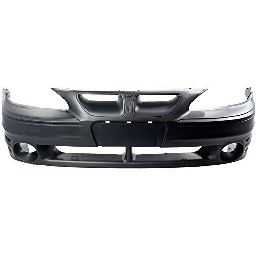 (Front Bumper Cover Primed for 1999-2005 Pontiac Grand Am)