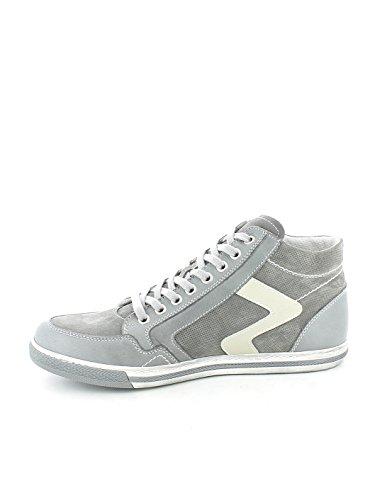 Sneaker alta Sauvage Grigio con zip N. 44