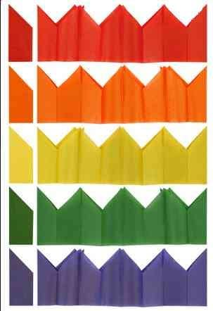 TISSUE PAPER CRACKER HATS ASSORTED COLOURS 90 x CHRISTMAS PARTY CRACKERS HAT