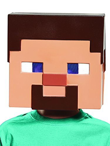 Creeper Mask Minecraft - Steve Minecraft Child