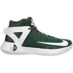 Nike Men's KD Trey 5 IV Gorge Green/White Synthetic Running Shoes 10.5 M US