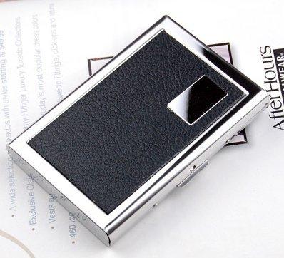 HBIE Travel Wallet Card Holder - Stainless Steel RFID Blocki