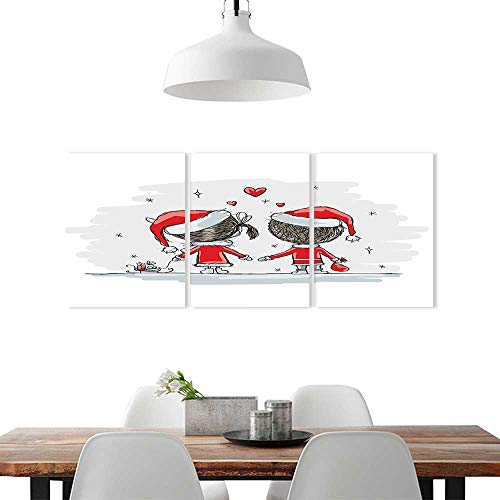 Color 3 Piece Wall Art Painting Frameless W12