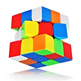 Speed Cube stickerless with New ANTI-POP Structure Smooth Puzzle Cube(stickerless)