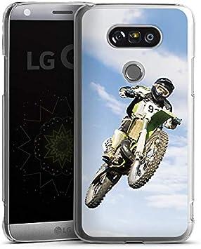 LG G6 Slim Case Carcasa de silicona Motocross Motocicleta Motor ...