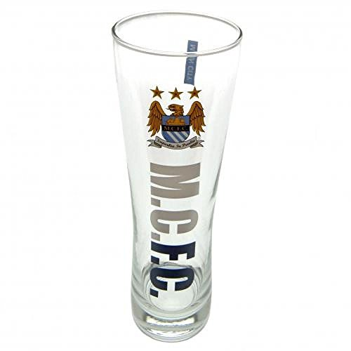 Football Gifts - Manchester City Fc Men'S Tall Beer Glass ()