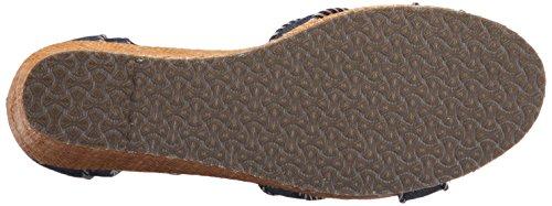 Skechers Womens Keilabsatz Sommer Sandalen Schuh Größe UK 3 - 8 Navy