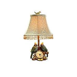 HS-01 Decorative Table Lamp Bedroom Bedside Lamp Bird Clock Pastoral Modern Minimalist Warm Creative Table Lamp
