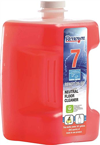 (RENOWN GIDDS-2481049 Renown Sureblend Neutral Floor Cleaner, 80 oz, 2 Per)