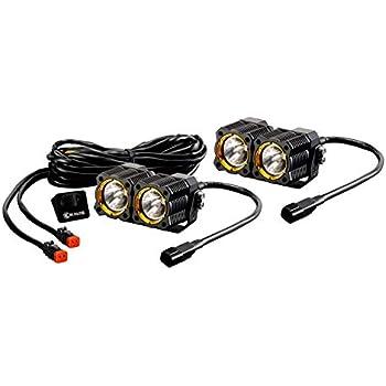 Superb Amazon Com Kc Hilites 330 3 12W Led Light With Spot Beam Pattern Wiring Digital Resources Dylitashwinbiharinl