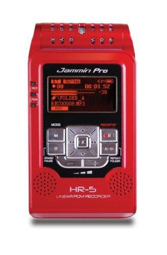 Jammin Pro HR5RED Studio Flash Recorder, Red by Jammin Pro
